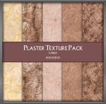 Plaster Texture Pack by zememz