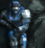Halo Reach Carter by TheAdamTaylor