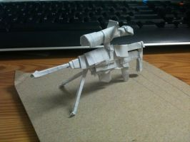 Origami AS50 Sniper Rifle by MadeTheCut