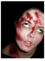 Zombie Makeup Bloody by PeabodyRose