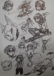 Raven Sketch page 2 by hakura-lives