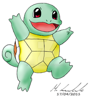 Squirtle by Yokocapolo