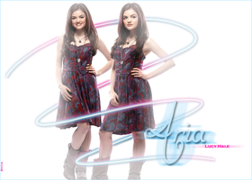 Aria Montgomery-Lucy Hale. by EnriiSoleil