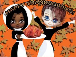 Happy Thanksgiving! by MistressesOfRomance