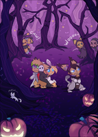 Halloween Frights by RayFierying