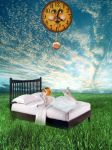 Bed by Flore-stock
