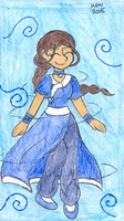 Spinning Katara by Nicktoons4ever