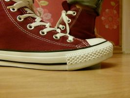 my first epic chucks *-* by OoRose