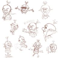 WIR- King Candy Expressions by NoelleLaBelle