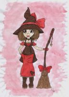 Valentines Witch by WhimsicalWitch