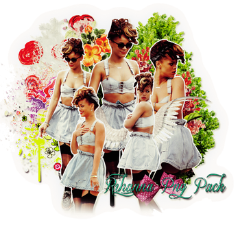 Pack png 181 Rihanna by MichelyResources