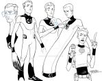 Fantastic Four Mr. Fantastic by KidNotorious