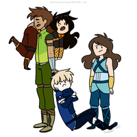 these are the kids that ruin my life by SummerSnowLeopard