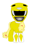 My Little Yellow Ranger by star-burn