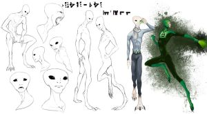GLTAS: Unnamed Alien Spieces by Tricksters-Adopts
