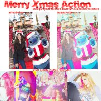 Merry Xmas Action by PartyWithTheStars