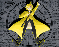 The name's BILL CIPHER by cardenus