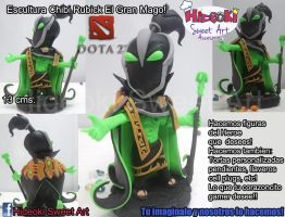 Chibi Rubick the grand Magus from Dota2 by Hideoki