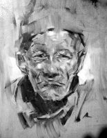 Old Man study by alrasyid
