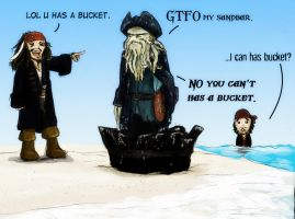 LOL BUCKET by terriblenerd