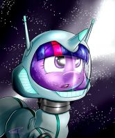 SPACE PONY by TheDerpyEnthusiast