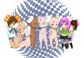 Chibi Collab :Closed: by Kaychan13