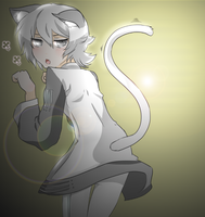 Nya, what're you looking at by GaySalt