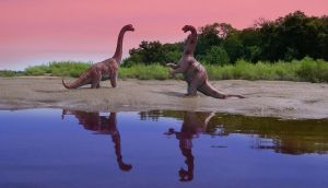 dino fight by brys-foto-fantasy
