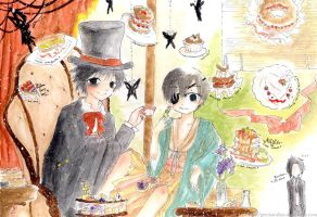 L feat. Ciel - L's Treat by spicyginger