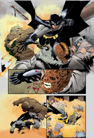 Coloring - Batman - Sequential art. by andreranulfo