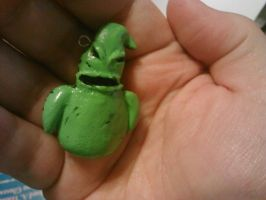 Oogie Boogie charm by ShadyDarkGirl