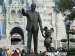 Walt and Mickey at WDW by TheArmouredBear
