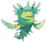 Chloralge, Hydra Fakemon by Smiley-Fakemon