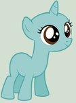 MLP Base- Unicorn filly by Bases-4-Bronies