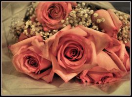 ::Rose Bouquet:: by Mew-Sumomo