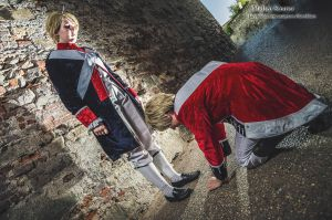 APH: American Revolution England and America by VirginMaryUnblood