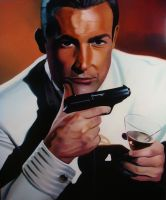 Sean Connery Licence to Kill by Cookiee1991