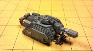 Warhammer 40K - Leman Russ Eversor by Dented-Rick
