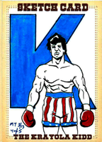 Mike Torrance and His Next Rocky Card by CJZ