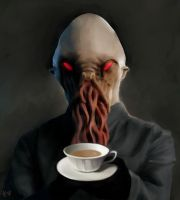 Tea Ood by wonderlandart