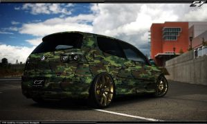 VW Golf Camouflage by CrazyTurk