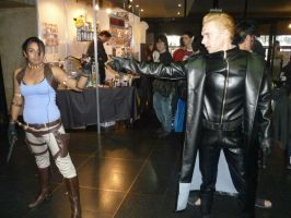 sheeva vs wesker by Yamilla