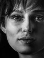 Hyperrealism Keira Knightley by SFleck