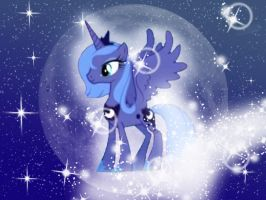 Princess Luna Wallpaper by Brightshadow813