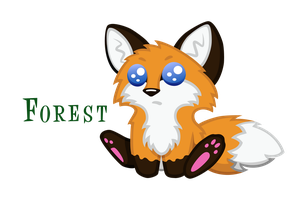 Forest the Fox as a baby by Chasm03