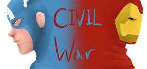 marvel civil war by cold-ice-trio
