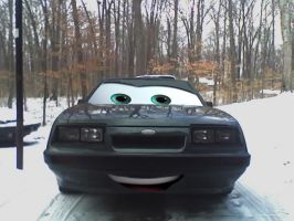 Cars 1986 Ford Mustang by Steven304