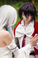 Pandora Hearts Cosplay - Alice and Will of Abyss by andrewhitc