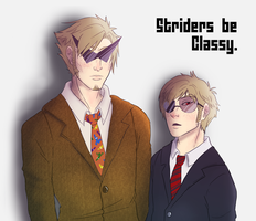Striders be Classy. by Manicfool