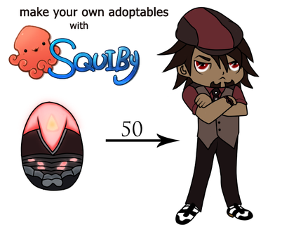 Squiby Adoptables - H-01 Black Tiger (SPOILER) by ThanEros